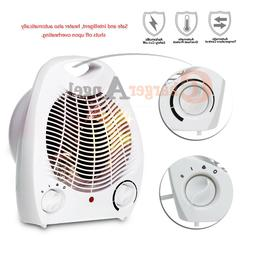 Portable Electric Space Heater 1500W 3 Settings Fan Forced A