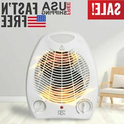 Portable Electric Space Heater Fan 800W 3 Settings Forced Ad