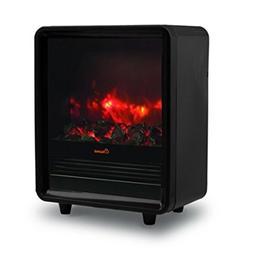 Crane Portable Fireplace Electric Heater - Black