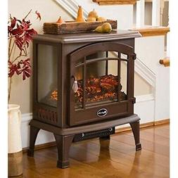 Panoramic Quartz Infrared Stove Heater - Bronze