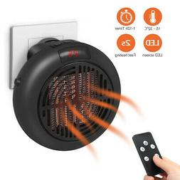 Portable Heater Plug-in 900W Personal Heater-Wall-outlet Spa