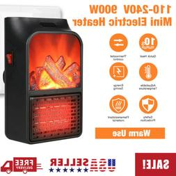 Portable Mini Space Heater With Thermostat&Timer Ceramic Hea
