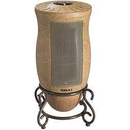 Lasko PORTABLE Oscillating CERAMIC Heater with 2 Quiet Setti