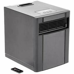 portable space heater 1500w black casing