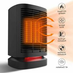 Portable Space Heater, 950W Electric Mini Air Heater, PTC Ce