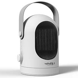 Blu7ive Portable Space Heater, Personal Ceramic Oscillation