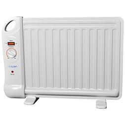 Space Heaters Indoor, White Adjustable Thermostat Office Ele