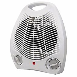 Portable Space Heater Compact Home Office Quiet, Adjustable