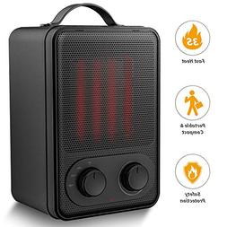 Portable Space Heater – 1500W Fast Heat Ceramic Space Heat