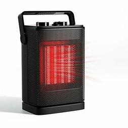 Portable Space Heater, Mini Electric Heater for Office Desk
