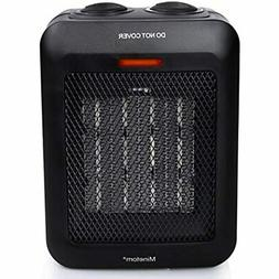 Portable Space Heater With Thermostat Ceramic Electric For I
