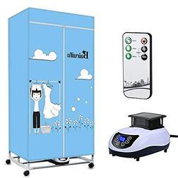 Bairuifu Portable Ventless Clothes Dryer with Heater Intelli