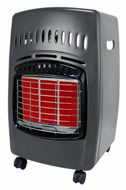 Propane Compact Infrared Heater Wheels Portable Outdoor Warm