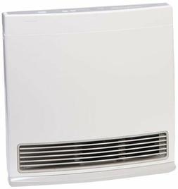 Propane Heater Wall Mount Fan Stainless Steel Indoor Warm 25