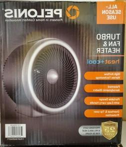 PELONIS PSH700S Vortex Heater with Air Circulator Fan, 2 in