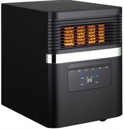 Soleil Quartz Infrared 1500 W 5200 BTU LED Display Electric