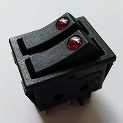 R Series Electric Space Heater Rocker Switch for Lakewood De