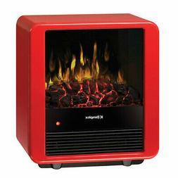 Dimplex Red Mini Cube Electric Stove