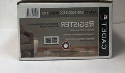 Cadet Register Multi-Watt 120-Volt In-Wall Fan-Forced Heater
