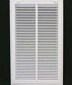"14"" X 25 Steel Return Air Filter Grille for 1"" Filter - Remo"