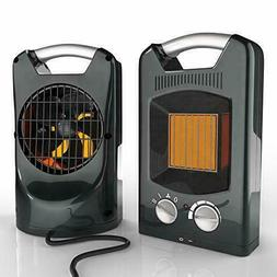 Royal 1500W Quiet Ceramic Space Heater With Adjustable Therm