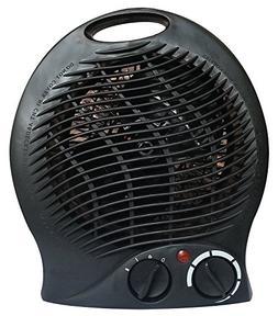 #1 Smart 1500 Watt Quiet Fan Space Heater Table Top Forced A