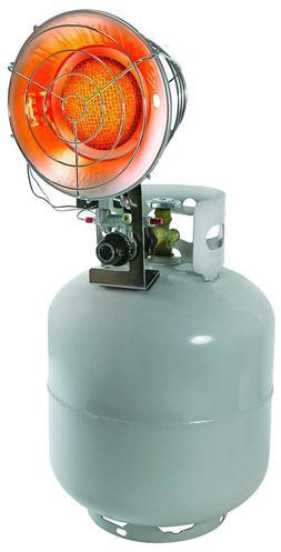 Comfort Zone Single Burner Tank Top Propane Heater