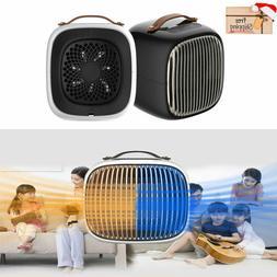 Small Portable Electric Space Heater 1000 Watt Ceramic Eleme