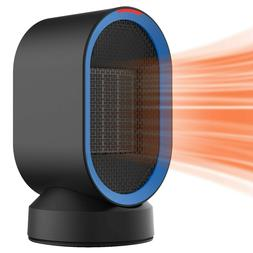 small space heater quiet oscillating electric portable