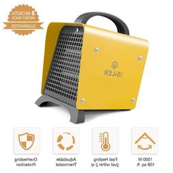 Space Heater, iSiLER 1500W Portable Indoor Heater, Ceramic S