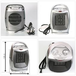 Space Heater 750W/1500W ETL Listed Oscillating Quiet Ceramic