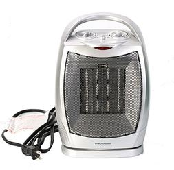 Brightown Space Heater Oscillating Quiet Ceramic Heater with