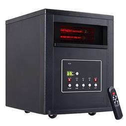 1800 Sq. Ft Space Heater Adjustable 1500W Electric Quartz Tu
