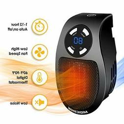 Space Heater for Indoor Use MIGICSHOW Wall-Outlet Space Heat