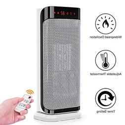 TRUSTECH Space Heater Instant Warm for Office, with Remote C