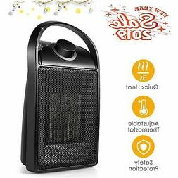 Space Heater, Quiet Ceramic Space Heater with Adjustable The