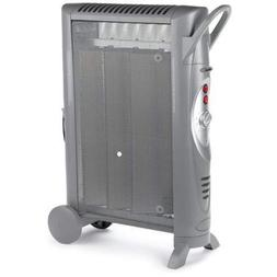 Space Heater Bionaire Silent Micathermic Console Heater, Gra