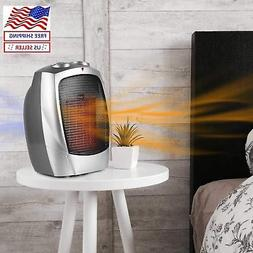 space heater with thermostat electric small 1500w