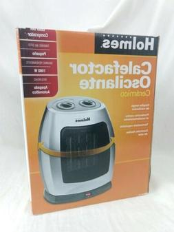 Holmes  Ceramic Oscilating Small Space Heater 1500W - NEW
