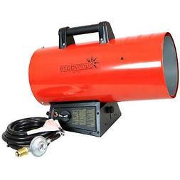Sunnydaze 125,000 BTU Forced Air Propane Heater - Overheat A