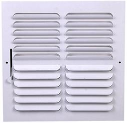 "8"" X 8"" 2-way Supply Grille - Duct Cover & Difuser - Flat St"