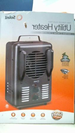 Soleil TFH-203-S Utility Heater, Fan-Forced Electric, FREE S