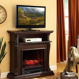 Three flame levels Portable Electric Fireplace Space Heater