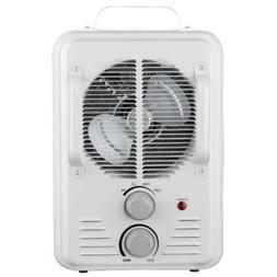 Utility Heater with Thermostat 900/1500 Watt White Milkhouse
