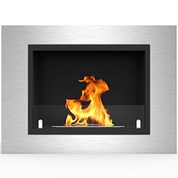 "Regal Flame Venice 32"" Ventless Built In Wall Recessed Bio E"