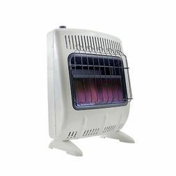 Mr. Heater MHVFBF20NGBT 20K VentFree Blue Heater W Blower