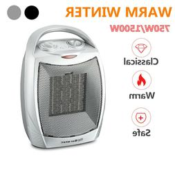 Warmtec 1500W Ceramic Space Heater with Carry Handle Adjusta