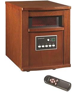 Homebasix Wh-96h Electric Heater, 120 Volt, Cherry