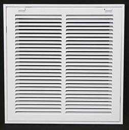 """14"""" X 14 Steel Return Air Filter Grille for 1"""" Filter - Remo"""