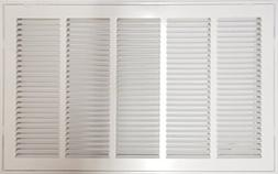 "25"" X 20 Steel Return Air Filter Grille for 1"" Filter - Remo"